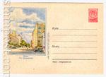 USSR Art Covers 1955 178  1955 02.12 Киев. Крещатик