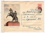 ХМК СССР 1956 г. 281 P Dx2  1956 06.07 Ленинград. Аничков мост
