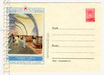 """ХМК СССР 1956 г. 247  1956 17.04 Станция метро """"Сокол"""""""