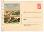 ХМК СССР 1956 г. 306  1956 11.08 Баку. Вид на Приморский бульвар