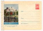 ХМК СССР 1957 г. 389 Dx2  1957 19.03 Минск. Театр оперы и балета