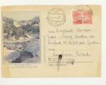 ХМК СССР 1957 г. 364 p  1957 06.02 SC №360 (57-14) В горах Ала-Тау Прошёл почту из Эстонии в Англию