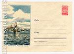 ХМК СССР 1958 г. 633  1958 31.01 Красноярск. В речном порту