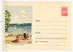 ХМК СССР 1958 г. 687 Dx2  1958 24.04 На озере Селигер
