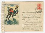 ХМК СССР 1958 г. 778 Px2  1958 17.09 Хоккей с шайбой