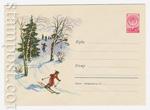 ХМК СССР 1959 г. 1083  1959 24.11 Катание с гор на лыжах
