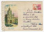 ХМК СССР 1959 г. 1081 P  1959 24.11 Брест. Вокзал
