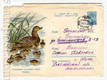 ХМК СССР 1960 г. 1227 p  1960 03.06 Кряква. Охраняйте полезных птиц! Продано