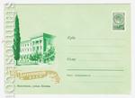 ХМК СССР 1960 г. 1262a  1960 13.07 Махачкала. Улица Ленина. Бум.0-1