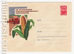 ХМК СССР 1962 г. 2121  1962 17.07 За изобилие. Кукуруза