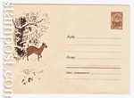 ХМК СССР 1962 г. 2236  1962 25.10 Кабарга