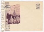 USSR Art Covers/1962 2327 b  1962 Интурист. Москва. Бородинский.мост. Марка ультрамаринового цвета