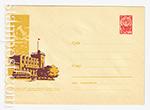 ХМК СССР/1963 г. 2497  19.04.1963 Украинская ССР. Днепродзержинск. Речной вокзал.