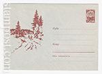USSR Art Covers/1963 2545  21.05.1963 Грибники на лесной дороге.
