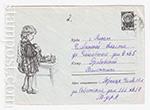 ХМК СССР/1963 г. 2935  1963 Девочка моет посуду