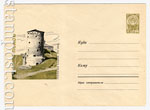 USSR Art Covers 1964 3483  1964 30.11 Псков. Гремячая башня