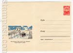 USSR Art Covers 1964 3361  1964 07.09 Волжская ГЭС. Судоходный шлюз