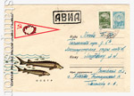 USSR Art Covers 1965 3628 USSR 1965 03.03 Protect fish stocks!  Sturgeon. Used