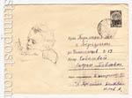 ХМК СССР 1966 г. 4326 P  1966 19.07 Рисующий ребенок. Бум.0-2