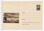 ХМК СССР 1966 г. 4116  1966 07.02 Аэропорт, посадка самолета