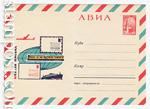 ХМК СССР 1966 г. 4367  1966 10.08 АВИА. Неделя письма