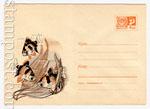 ХМК СССР 1967 г. 4747  1967 14.07 Аквариумные рыбки - барбусы (3 рыбки)