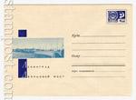 ХМК СССР 1967 г. 4891 СССР 1967 20.09 Ленинград. Дворцовый мост