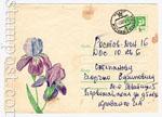ХМК СССР 1968 г. 5689 СССР 1968 21.06 Ирисы