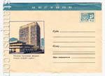 """ХМК СССР 1970 г. 7242  1970 17.09 МЕСТНОЕ. Тбилиси. Гостиница """"Иверия"""""""
