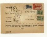 Почтовые отправления 30-е года 15 СССР 1938