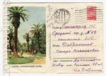ХМК СССР 1954 г. 34 P  1954 26.08 (54-33-1)* Гагра. Курортный парк. Бум.0-1 Л.-300