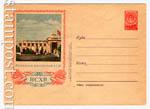 ХМК СССР 1954 г. 54b  1954 21.10 ВСХВ. Павильон Литовской ССР. Бум.0-2