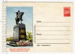 ХМК СССР 1954 г. 22a  1954 15.07 Москва. Памятник Юрию Долгорукому. Бум 0-1 с руб