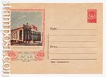 USSR Art Covers/1954 г. 65 b  1954 12.10 (54-64) ВСХВ. Павильон Эстонской ССР. Бум.0-2
